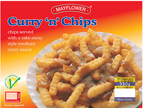 Curry 'n' Chips