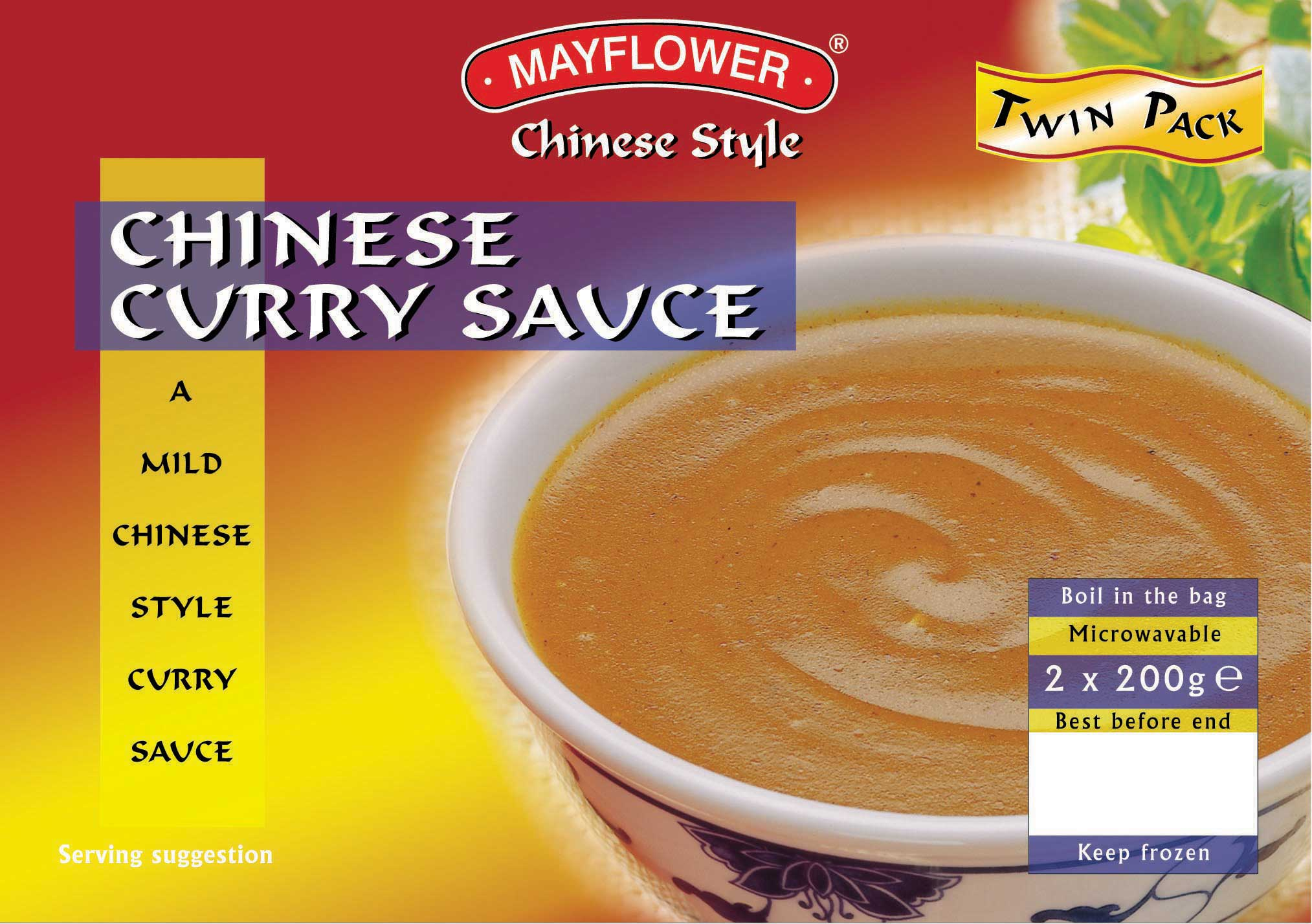 Mayflower Curry Sauce Twin Pack