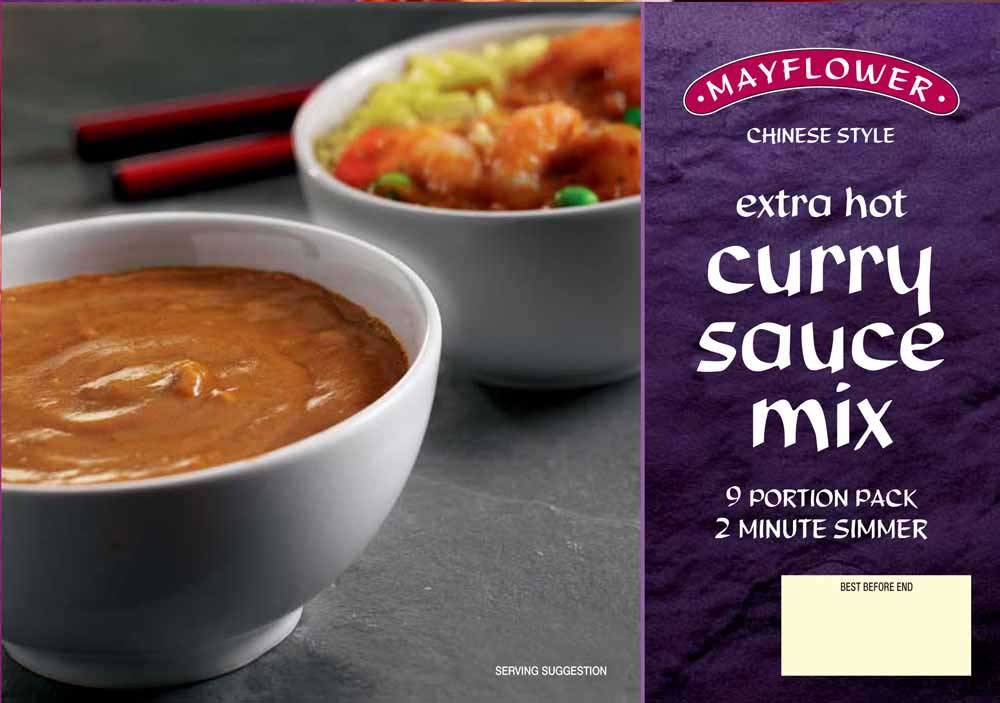 Mayflower Extra Hot Curry Sauce Mix