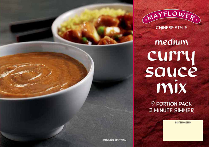 Medium Curry Sauce Mix